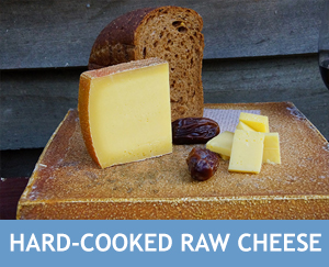 Hard-Cooked Raw Cheese